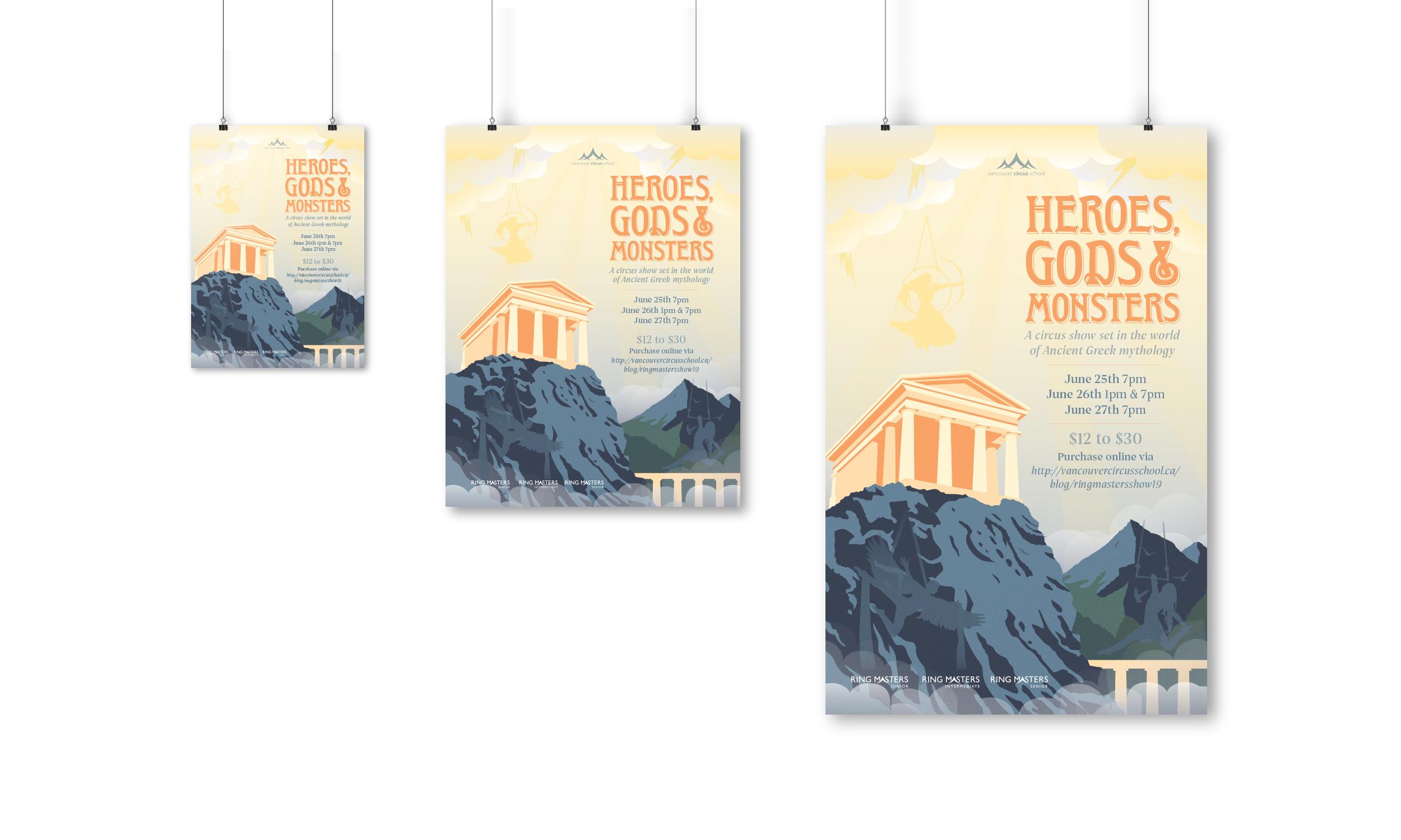 HEROES, GODS & MONSTERS — Hillary Halldorson Designs