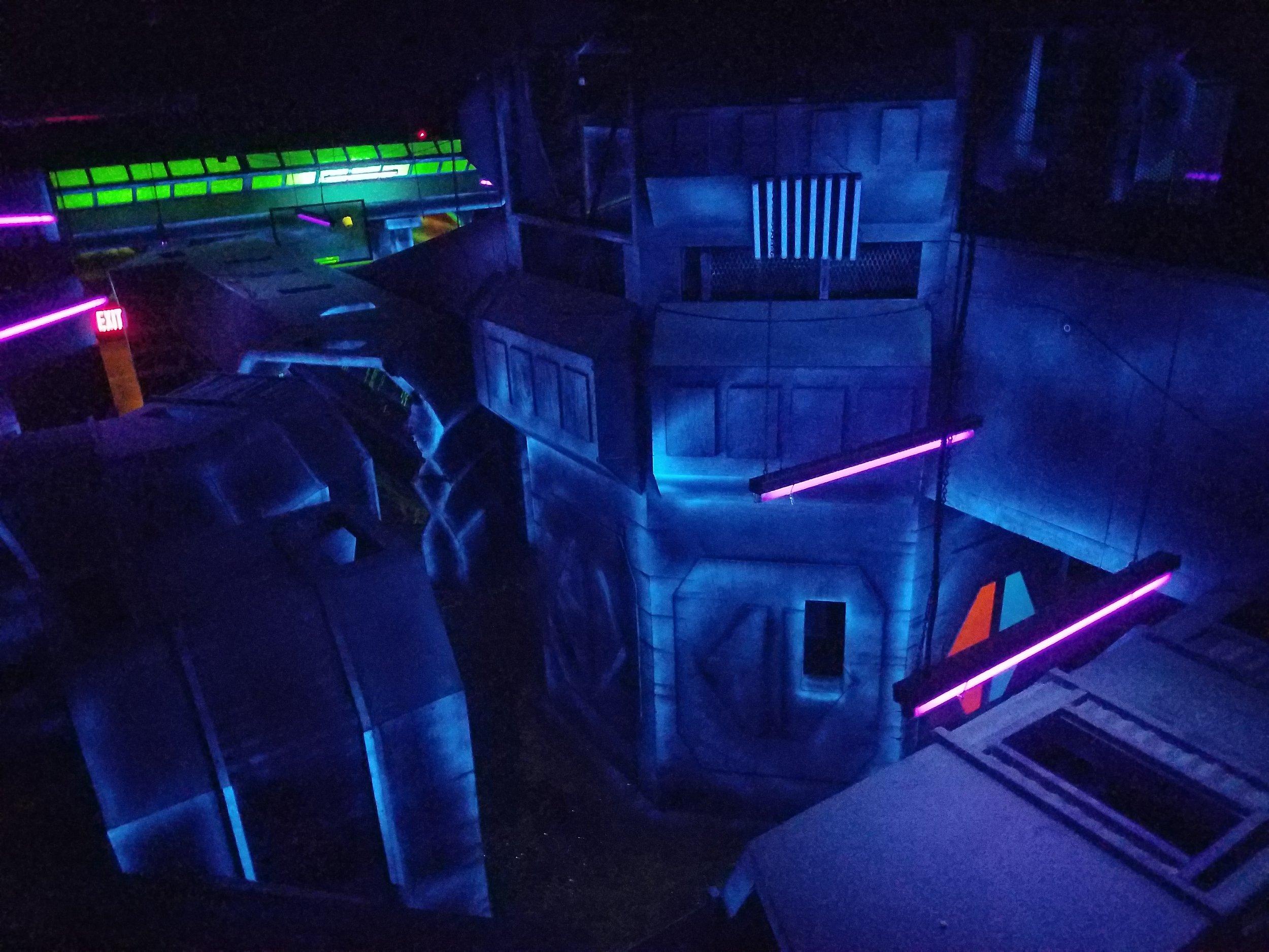 Arena Upper Levels