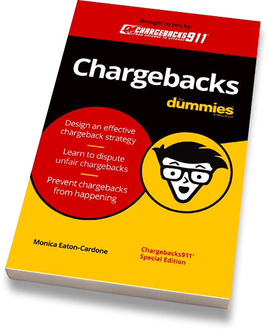 - Request your FREE paperback copy ofChargebacks for Dummies today!