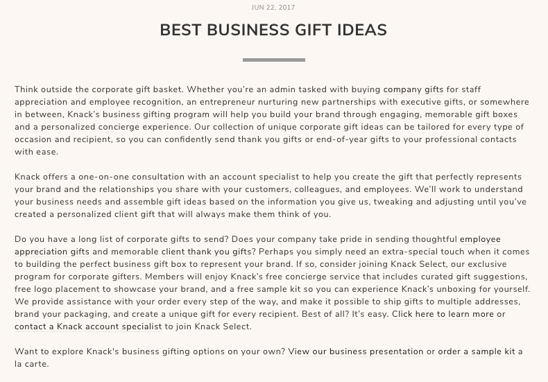 Best Business Gift Ideas