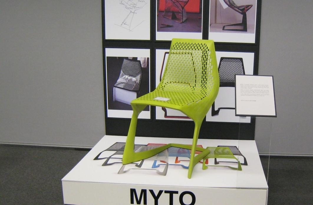 Konstantin Grcic's Myto Chair Made of BASF's Ultradur® High Speed Plastic