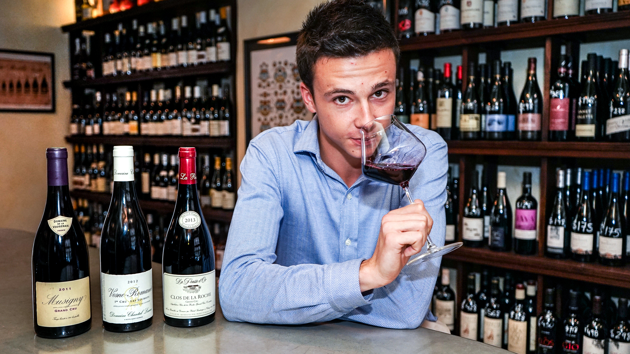 Aurélien la saint - our « BURGUNDY Winelover »