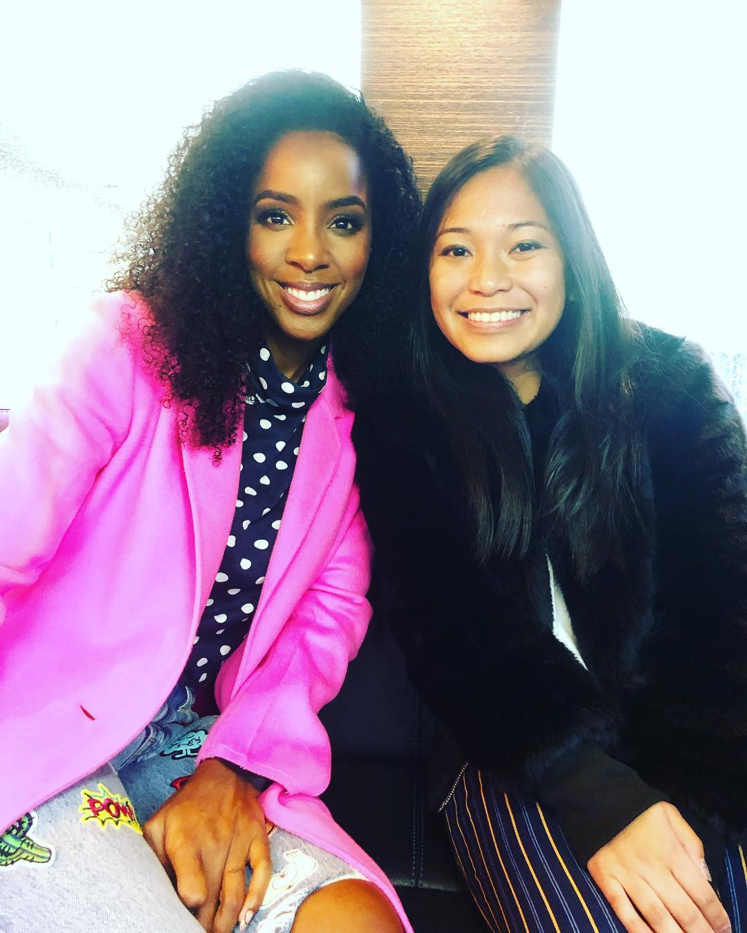 KELLY ROWLAND - What Kelly Rowland Is Doing To Make Sure Black Girls Have Safe Spaces To Wear Their Natural 4C Hair