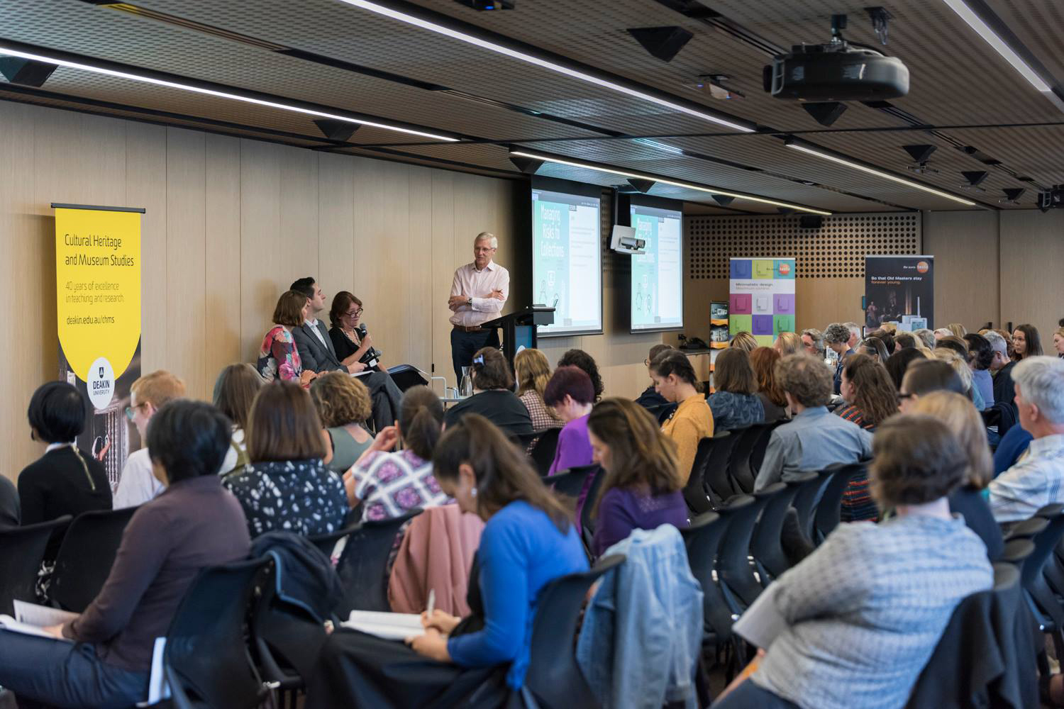 AICCM Managing Risks to Collections conference, February 2019 / Photograph by  Katrina Watson