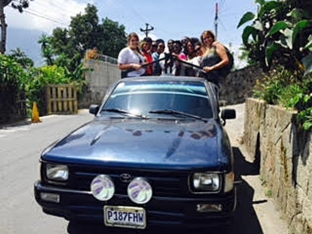 Taking in the customs of the local people in Santiago Atitlan, Guatemala
