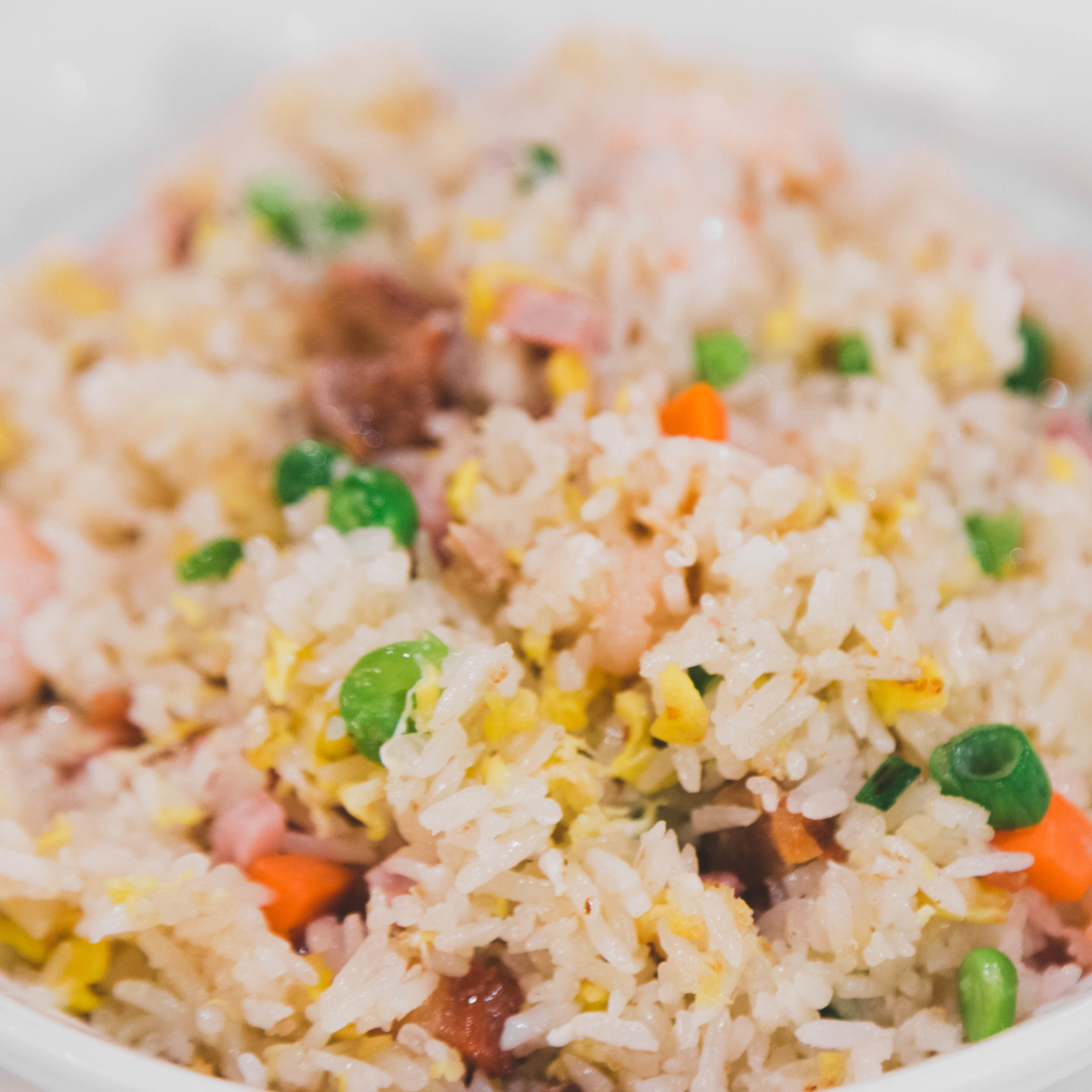 FRIED RICE & EGG FOO YOUNG