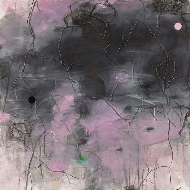 """Congratulations to Zhou Li's solo exhibition """"Original State of Mind""""opens tonight at @whitecube in London! - """"In her abstract paintings, Zhou attempts to position herself outside of the usual parameters of perception – a process that is normally accepted as either subjective or objective. Attempting to access an unhindered way of observing and understanding, she considers both her own self and the objects around her as equally valuable to her art; each indivisible one from the other. The duality of perception is challenged as well as that of sensibility and rationality, by prioritising the phenomenological understanding of life – and her own experience of it – over existing concepts or formations."""" - The exhibition is on view through June 30, 2019. #zhouli #周力"""