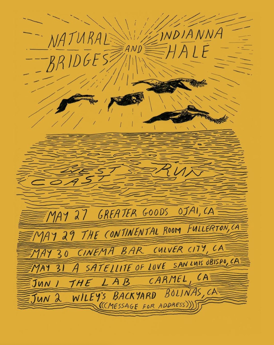 tour poster by  Evan AP Roberts