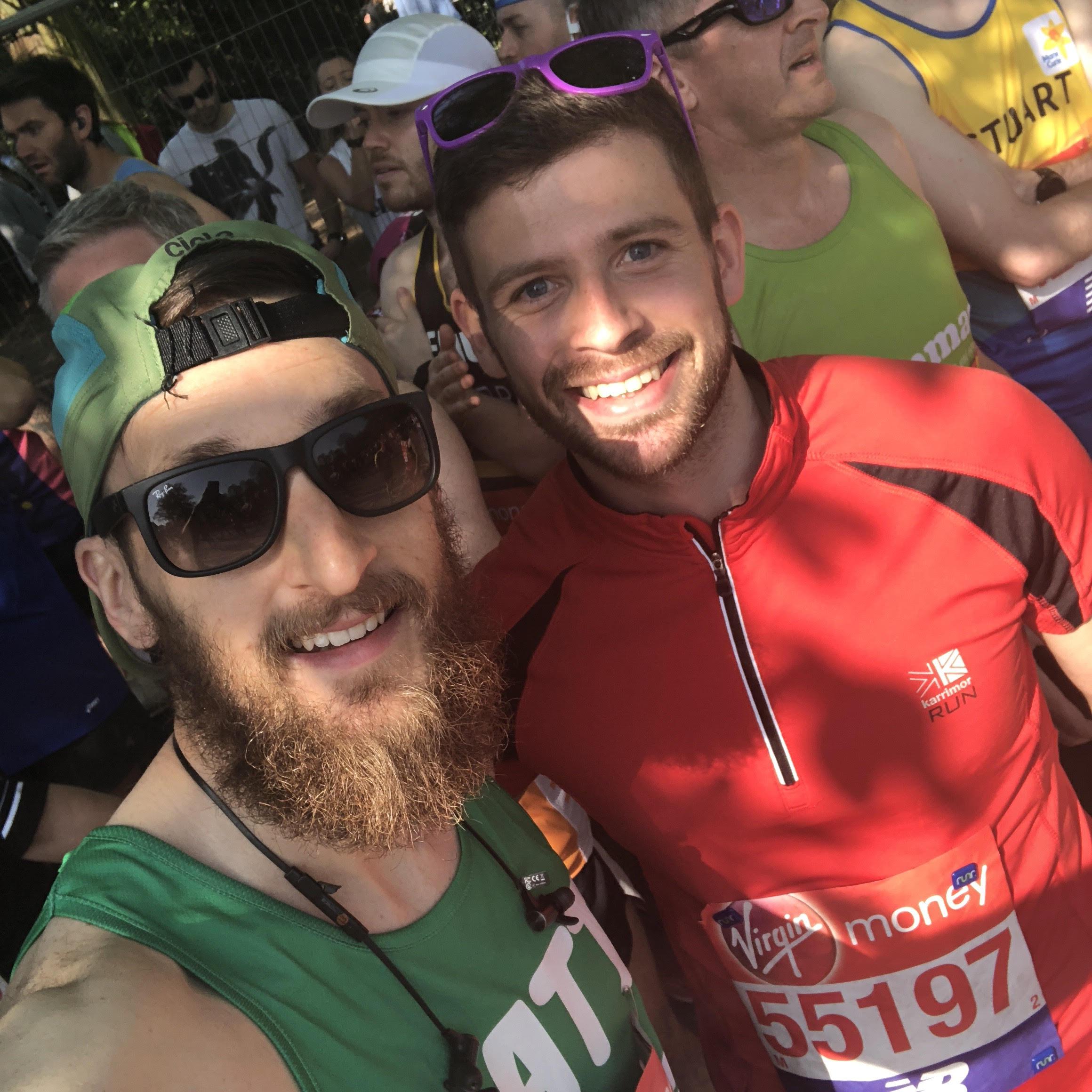 Two Matts One Marathon
