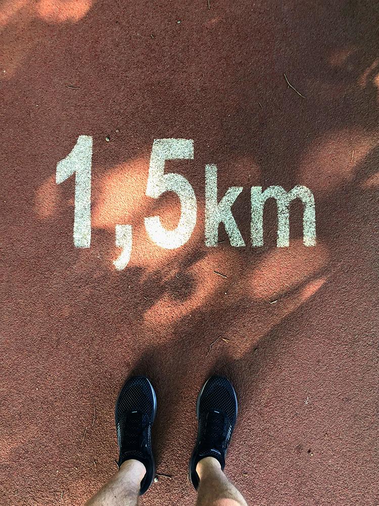 Run Budapest Margaret Island 5K Running Track 01