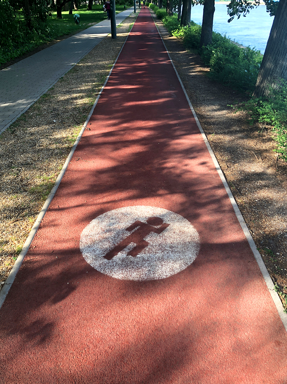 Run Budapest Margaret Island 5K Running Track 03