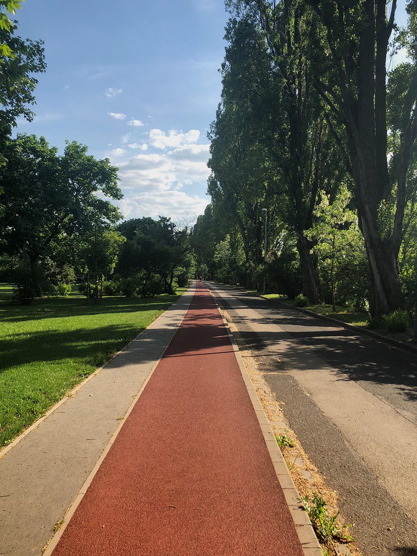 Run Budapest Margaret Island 5K Running Track 04
