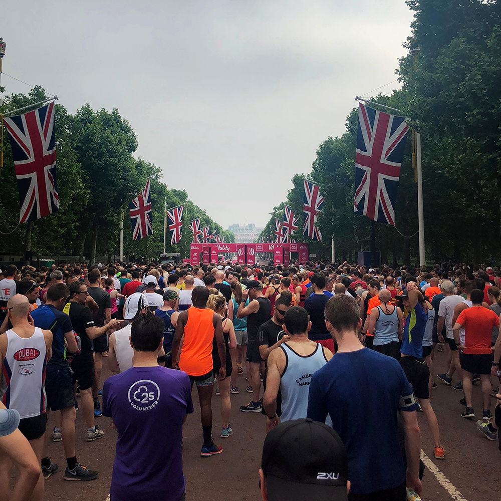 Vitality London 10000 - The Mall start line