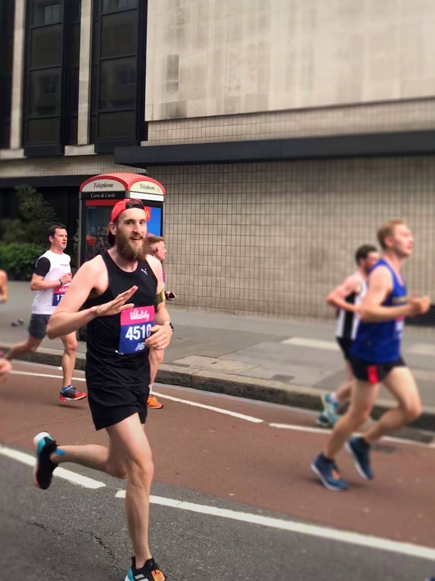 Vitality London 10000 - Mid Race Incline Assesment