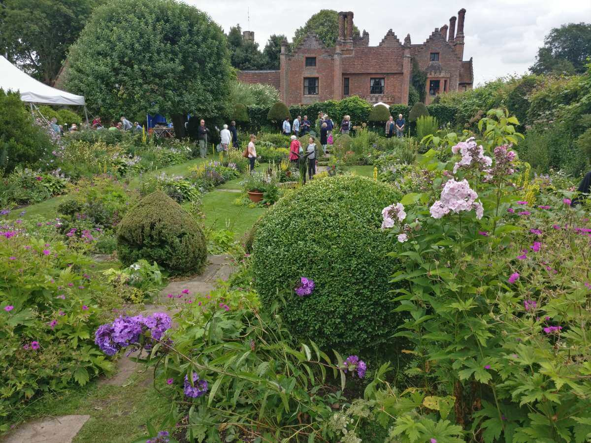 The gardens at Chenies Manor July 14th