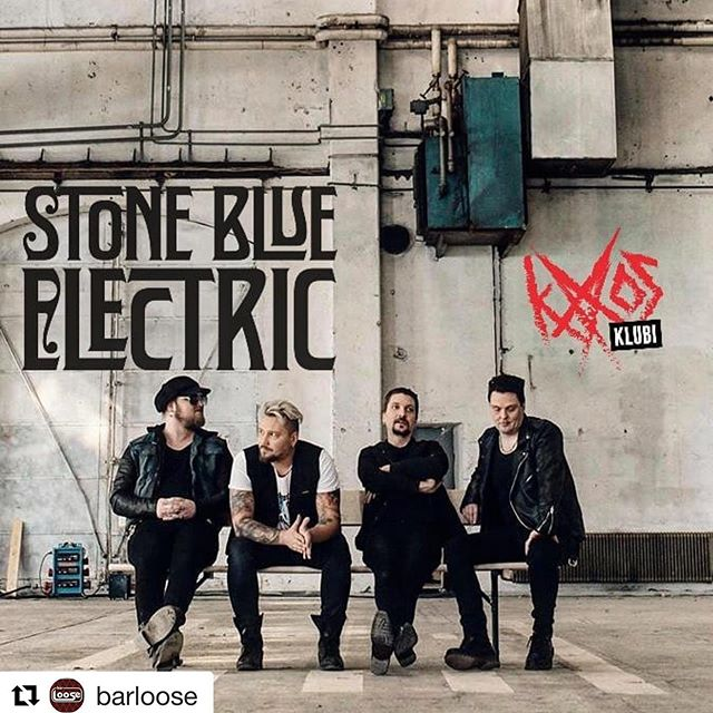 Kaaosklubi tonight!! Who's coming?  #barloose #kaaosklubi #stoneblueelectric #nemagency @barloose