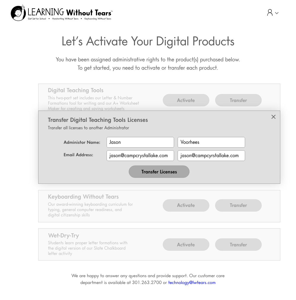 Digital Fullfill Landing Page - Transfer Selection – Admin Entry.png