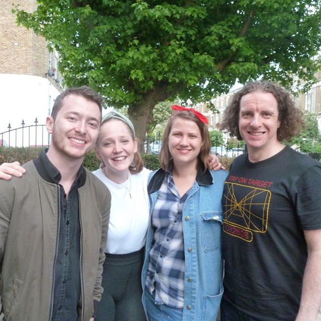 ⭕️ The wonderful team behind 'Finish with a trip to the gift shop'. Written by Darren Ross, directed by Aime Neeme and performed by Maisie Preston and Stephen Smith. It was an absolute pleasure having you to perform on Sunday! ⭕️ #farcry theatre #theatre #performance #Director #writer #actor #actress #actorslife #scratchnight #newwriting #fringetheatre @landutheatre