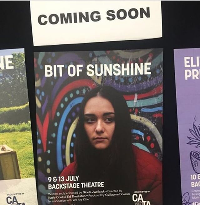 CHECK IT OUT: 'Bit Of Sunshine' from We Are Kilter. A wonderfully moving and important piece of theatre, written and performed by the almighty @nicoleizza and directed by the wonders that are @edtheakston93 and @katielaing_  9th & 13th July @mountviewldn  Tix £5 otd or via: https://www.mountview.org.uk/whats-on/show/catalyst-festival-bit-of-sunshine/ GET INVOLVED!!! #theatre #tickets #fringe #newwriting #actor #director #art