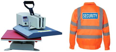 Heat Applied Transfers Peter Drew Hi-Vis