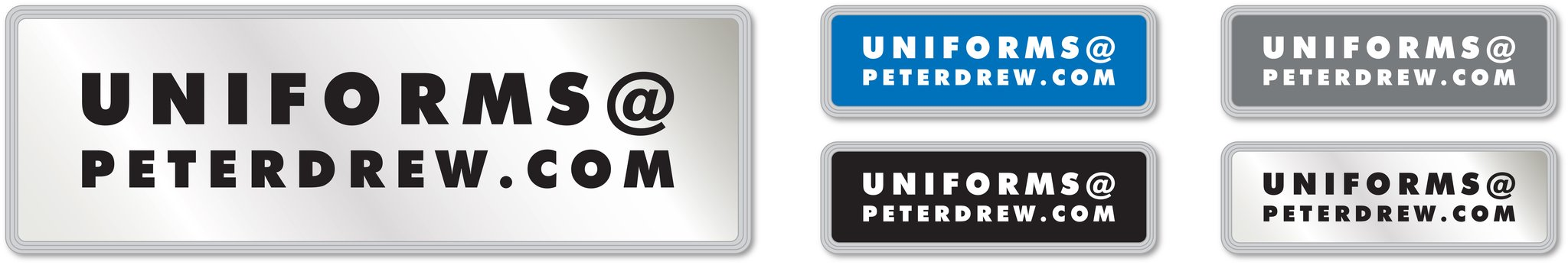 Encapsulated Reflective Badges Peter Drew Security uniforms