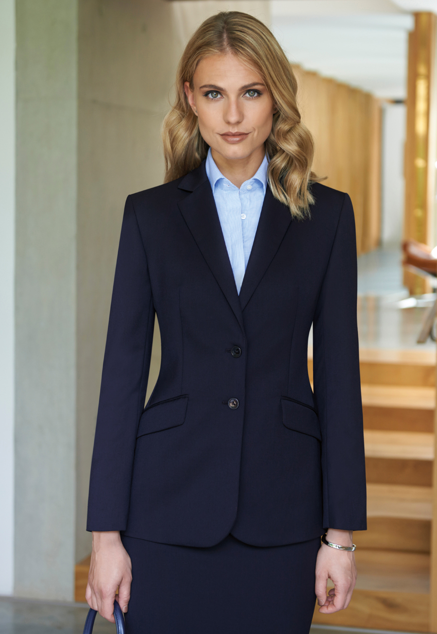 Brook Taverner Ladies Navy Jacket Connaught