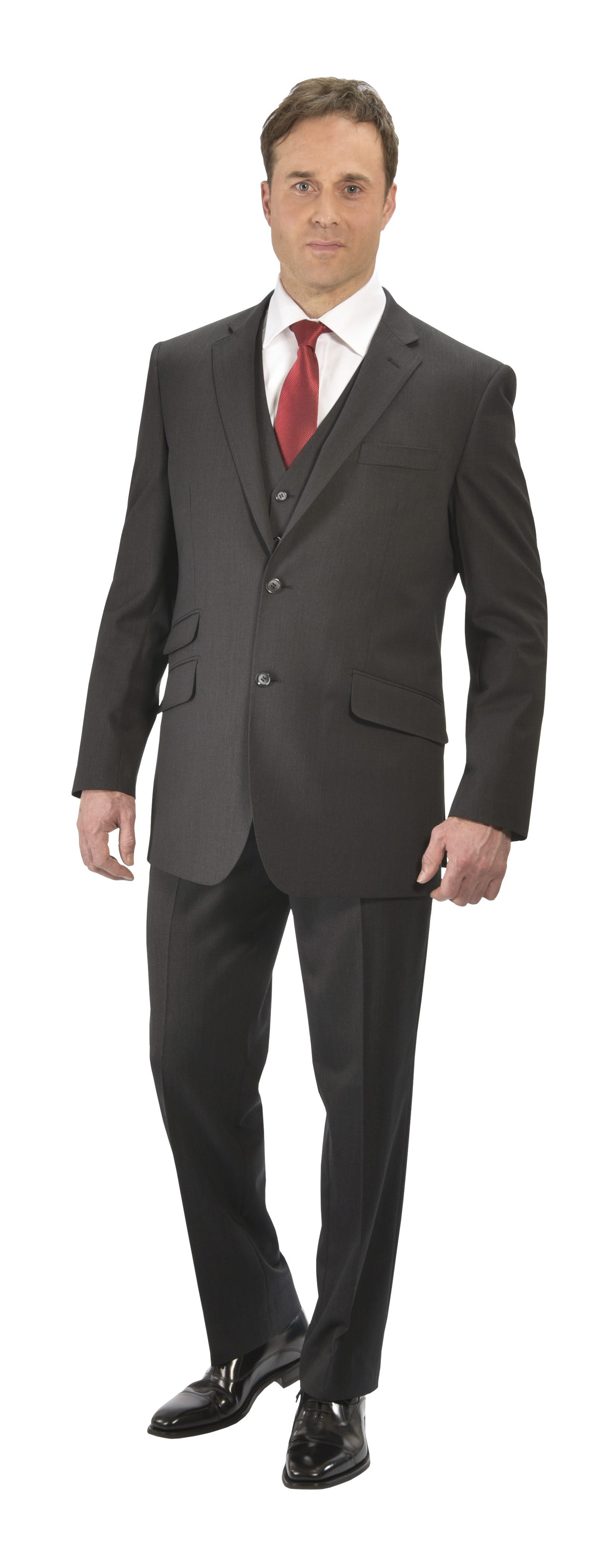 Charcoal Suit by Peter Drew