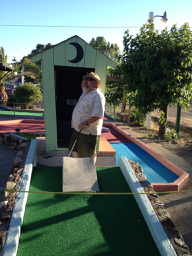Miniature Golfing in Clear Lake