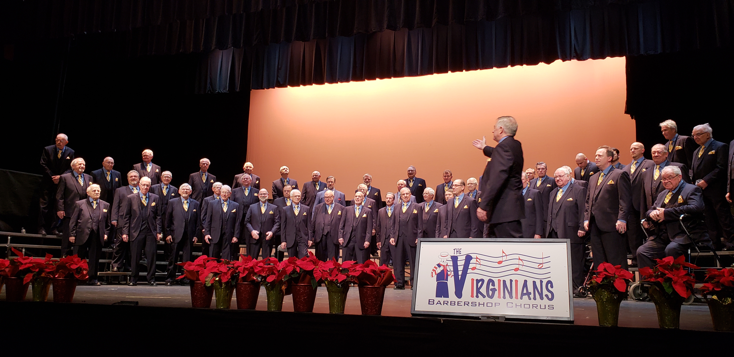 The Virginians Chorus takes the stage
