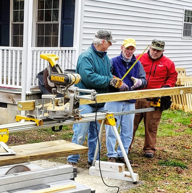 Deck and Ramp Building for Disabled Veterans