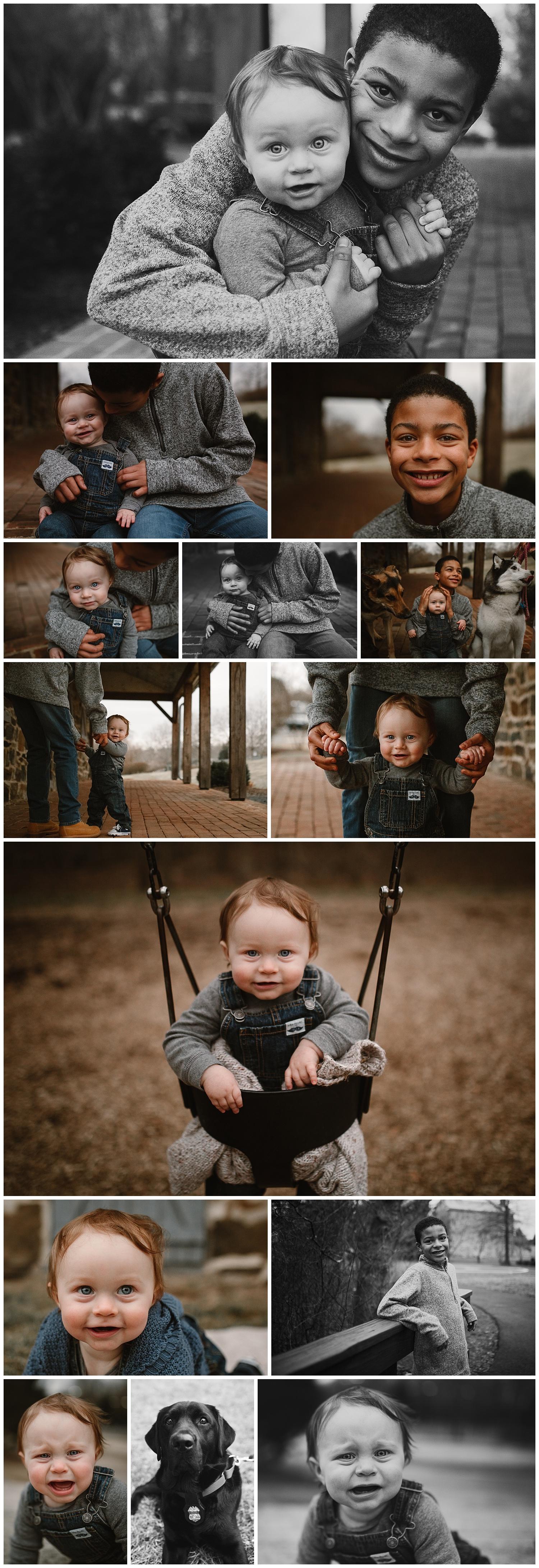 Broadlands Virginia sibling family photography