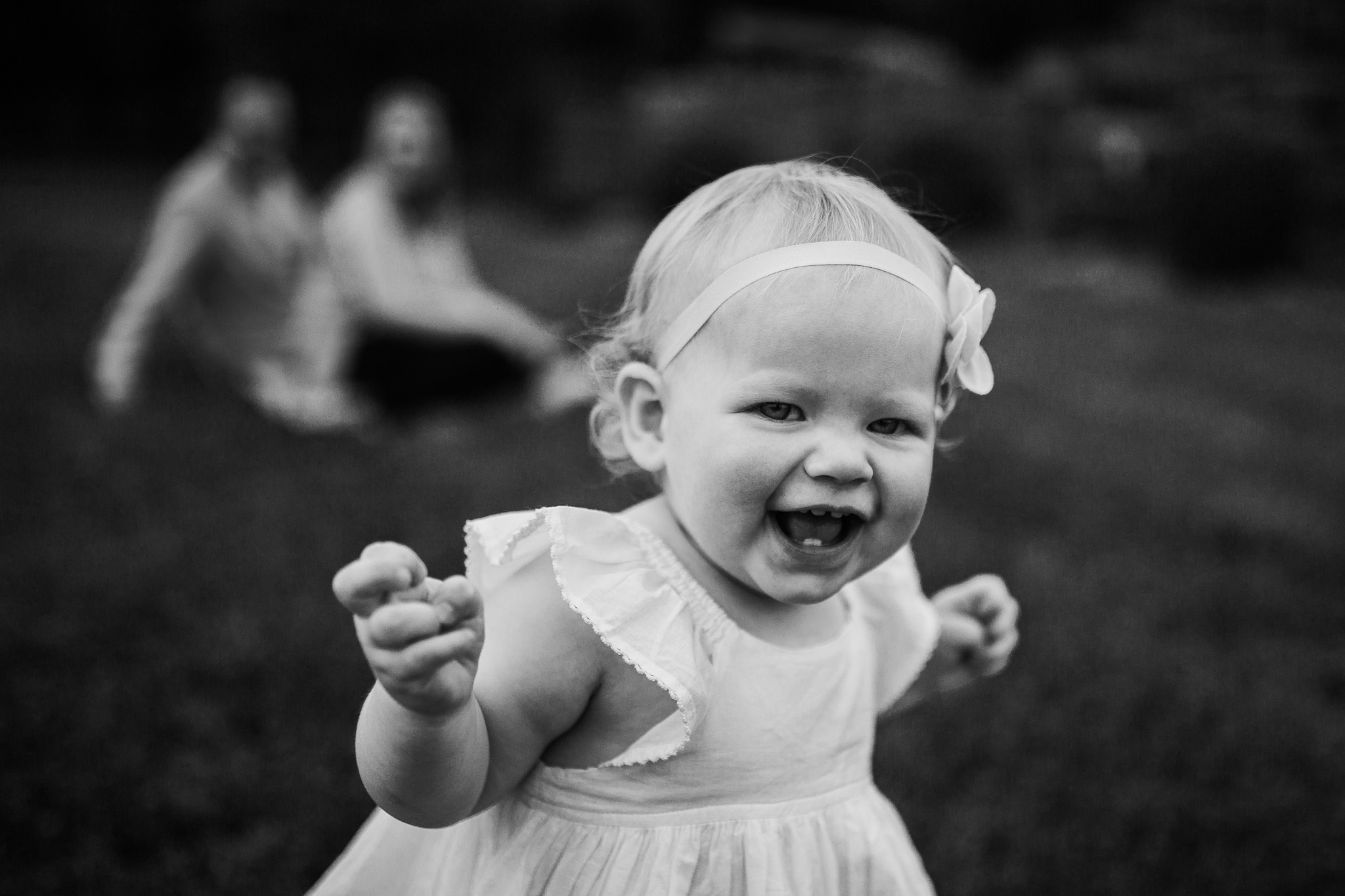 Black and White; Ida Lee Park Family Photography Leesburg Virginia Toddler