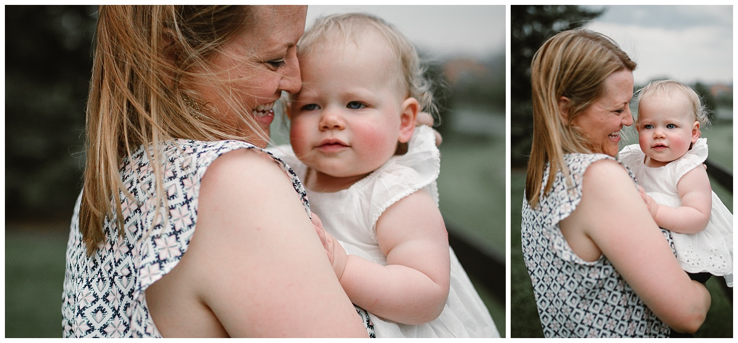 mother and daughter lifestyle family photography at Ida Lee Park in Leesburg, Virginia