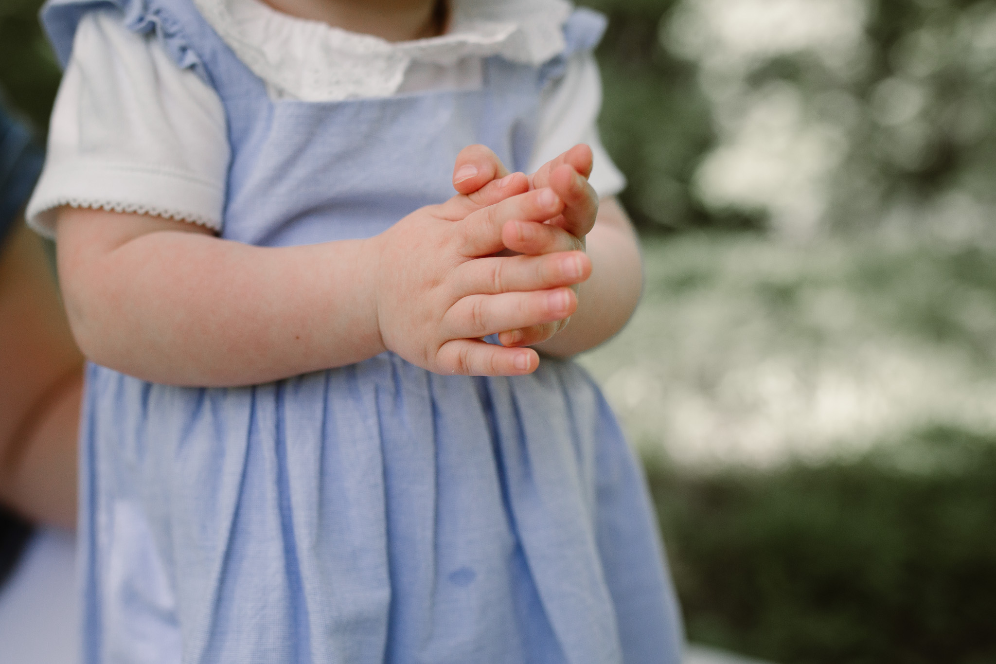 toddler clapping hands family photography Colvin Run Mill Great Falls Virginia