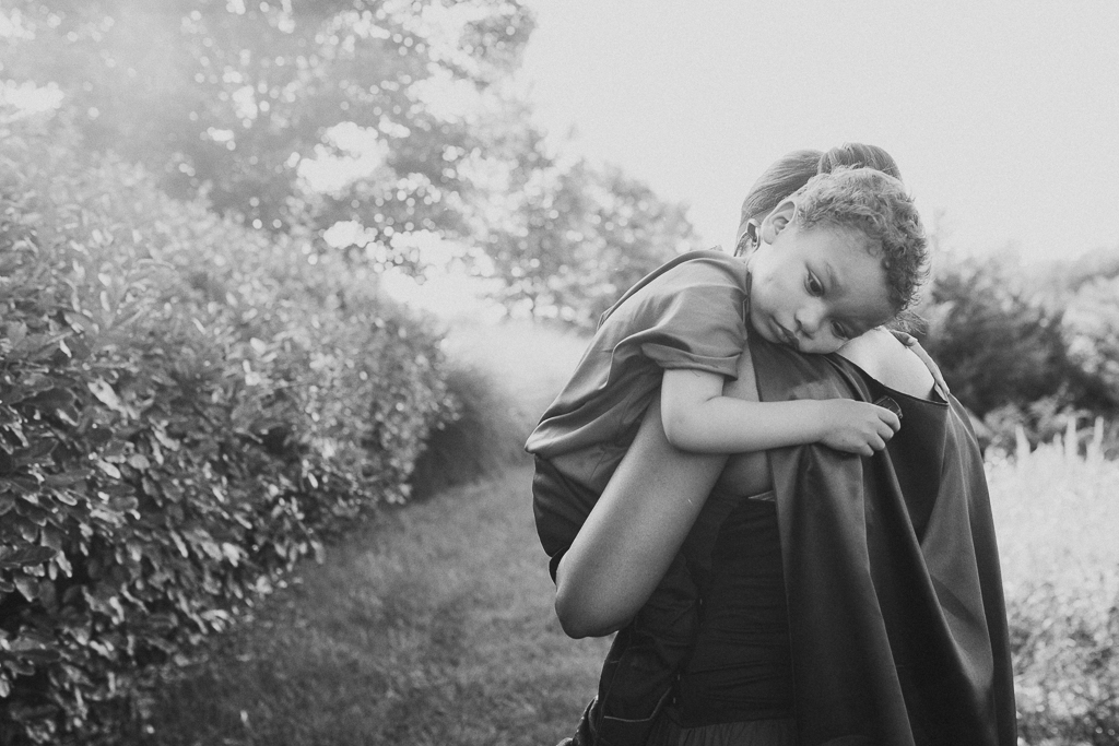 Black and white mother son lifestyle family photography warrior fighter Beaverdam Run Ashburn Virginia Loudoun County Marti Austin Photography TGHP The Gold Hope Project