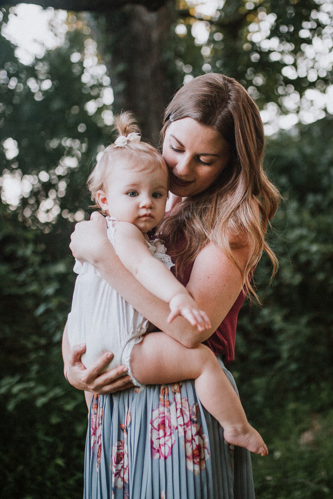 mother daughter one year old family lifestyle photography Marti Austin Photography Rust Nature Sanctuary Leesburg Loudoun Virginia