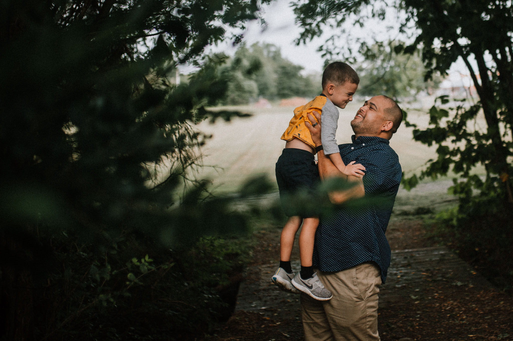 Father Son Claude Moore Park Heritage Farm Museum Sterling Virginia Lifestyle Documentary Fall Family Marti Austin Photography