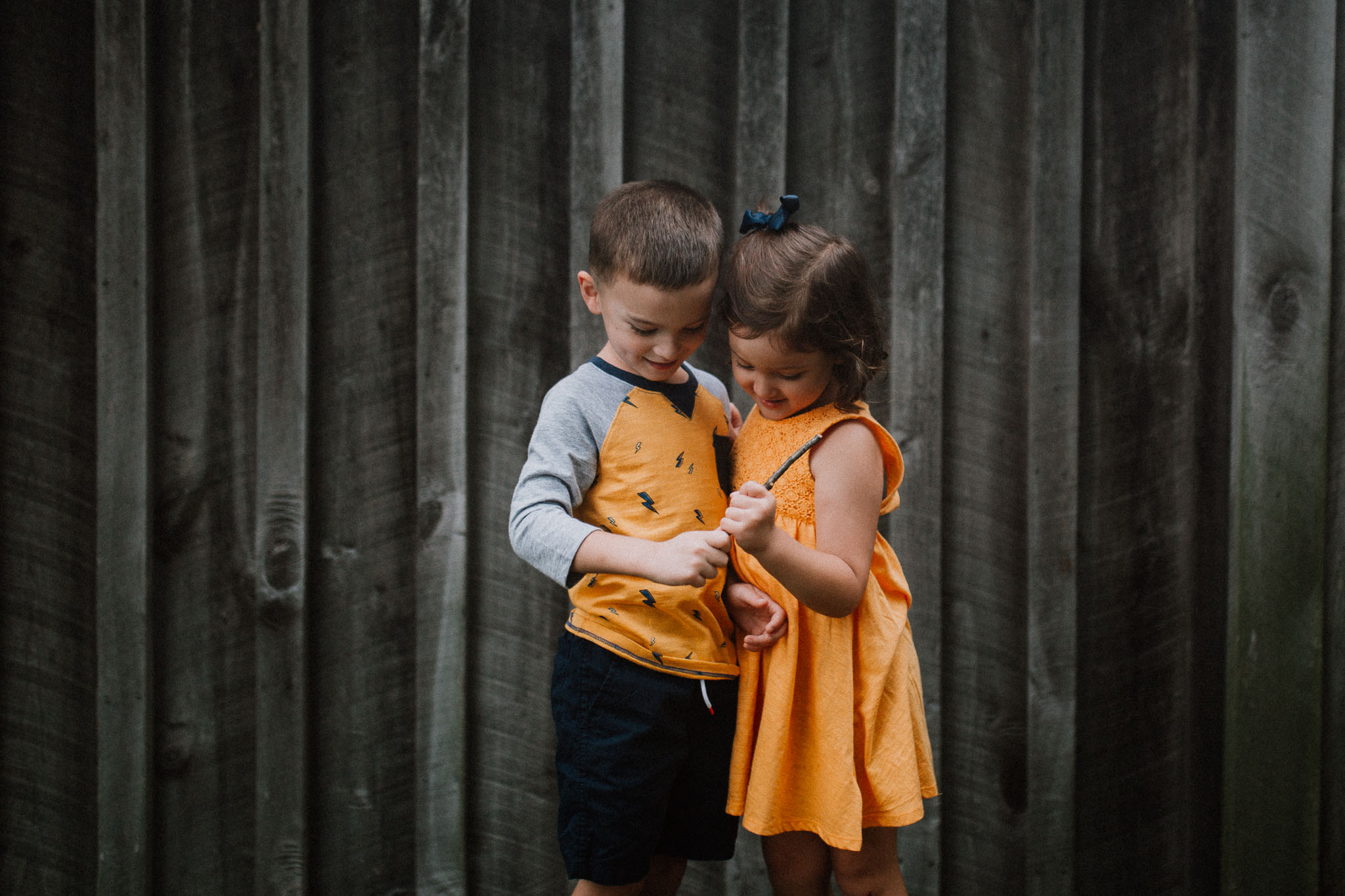 Brother Sister Siblings Claude Moore Park Heritage Farm Museum Sterling Virginia Lifestyle Documentary Fall Family Marti Austin Photography