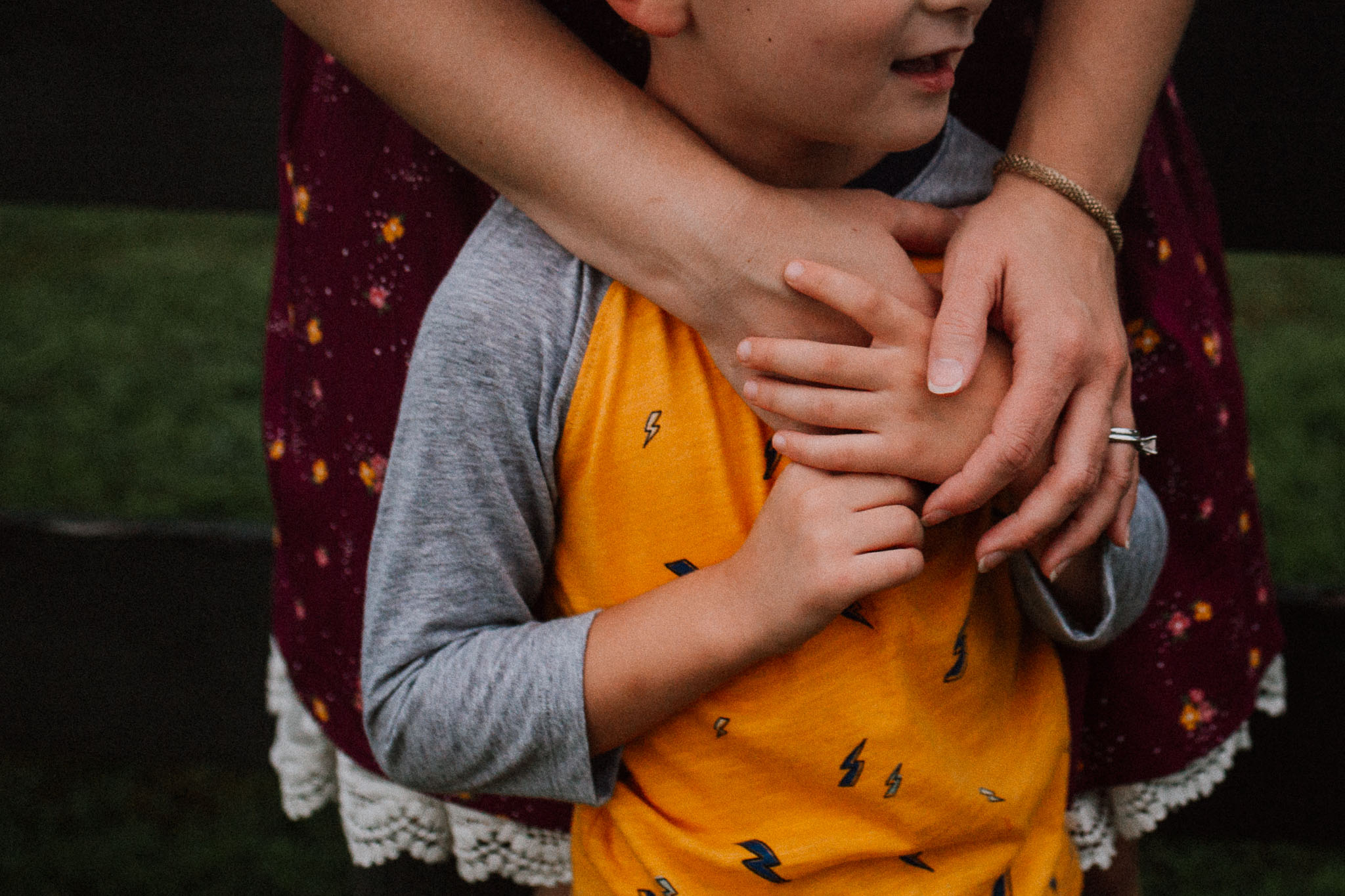 mother son details holing hands Claude Moore Park Heritage Farm Museum Sterling Virginia Lifestyle Documentary Fall Family Marti Austin Photography