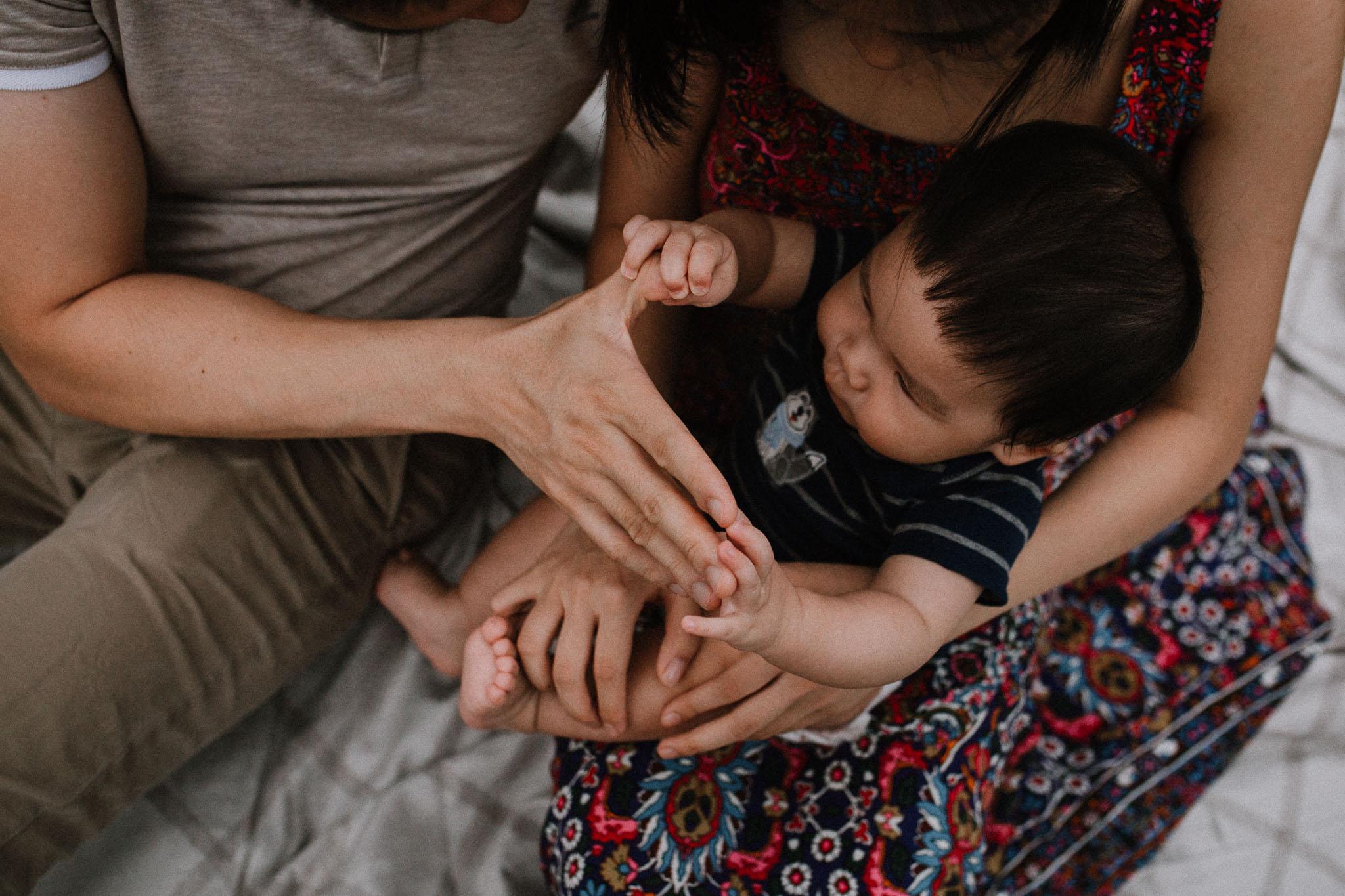 details hands feet lifestyle documentary family Barn at One Loudoun Ashburn Virginia Marti Austin Photography
