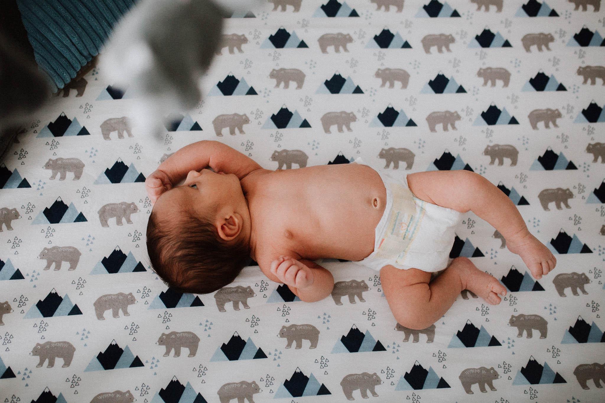 Newborn baby boy crib Ashburn Virginia Lifestyle Loudoun Documentary Family Marti Austin Photography
