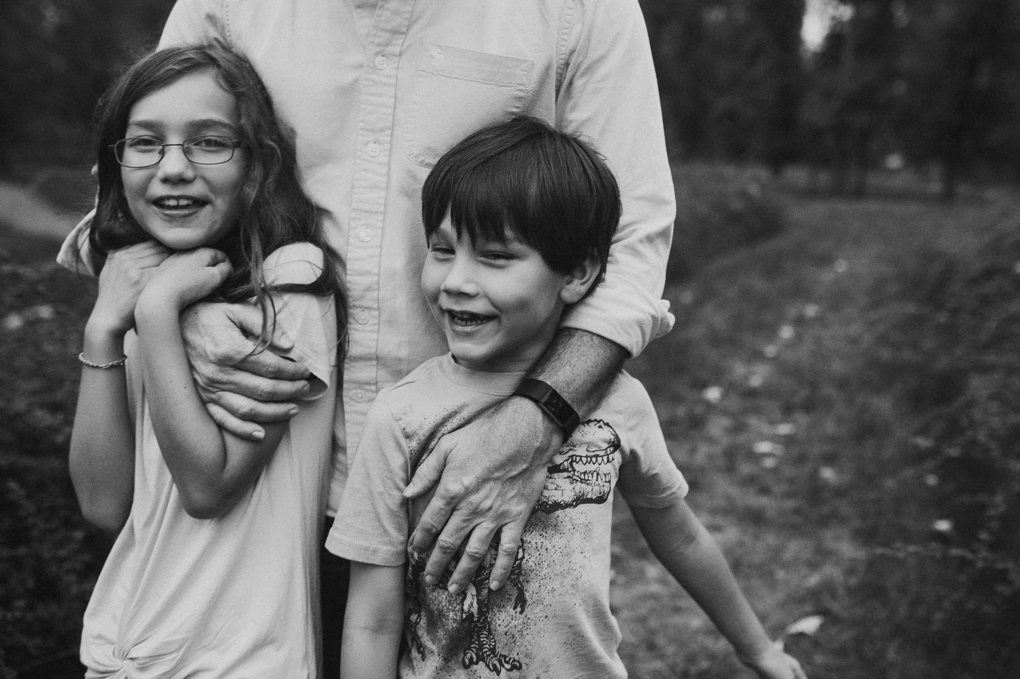 black and white brother sister siblings, Lifestyle Documentary family The Barn at One Loudoun Ashburn Virginia Marti Austin Photography