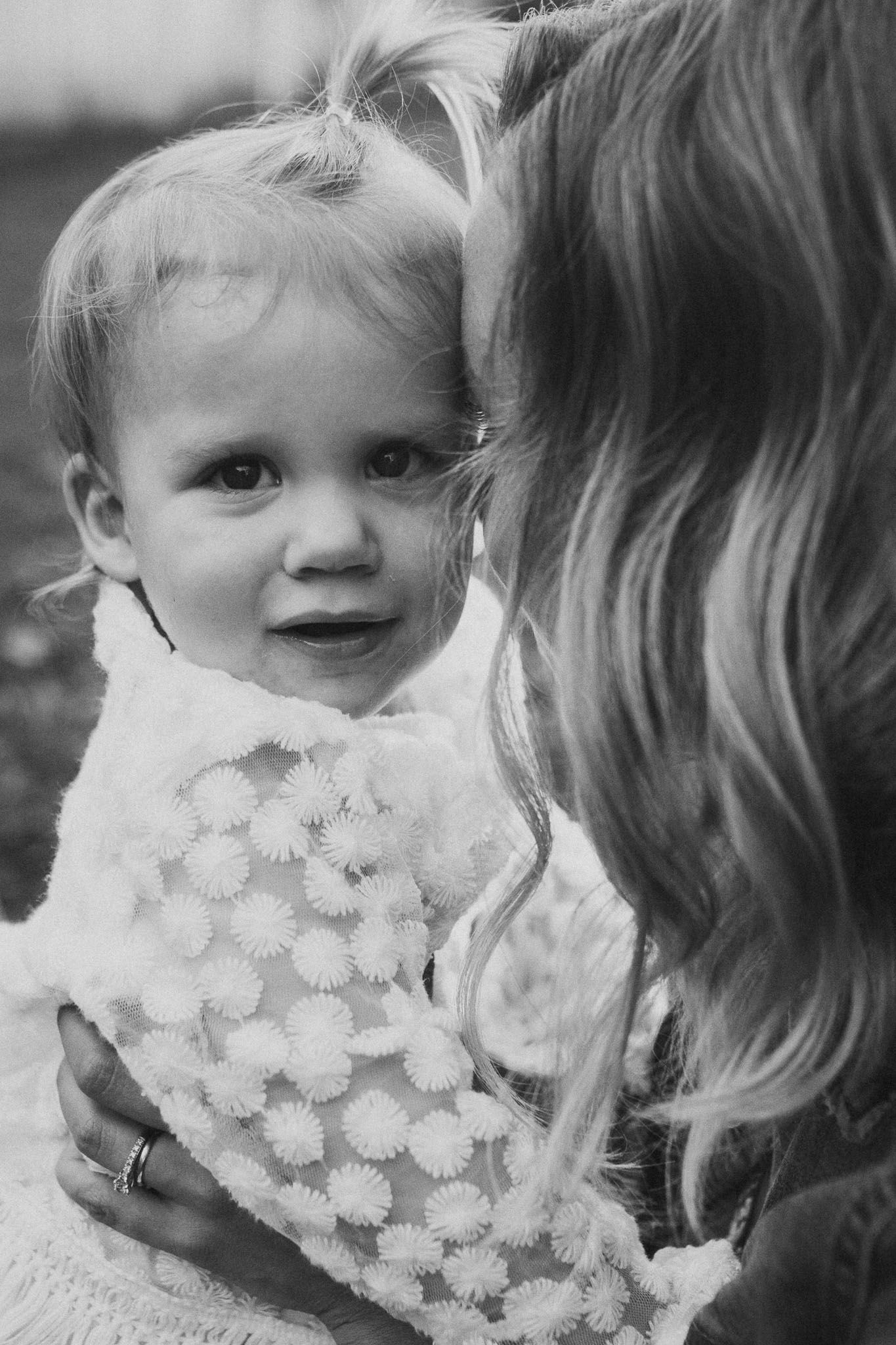 black and white mother daughter toddler family sunset golden Rust Nature Sanctuary Leesburg Loudoun Virginia Lifestyle Documentary Marti Austin Photography