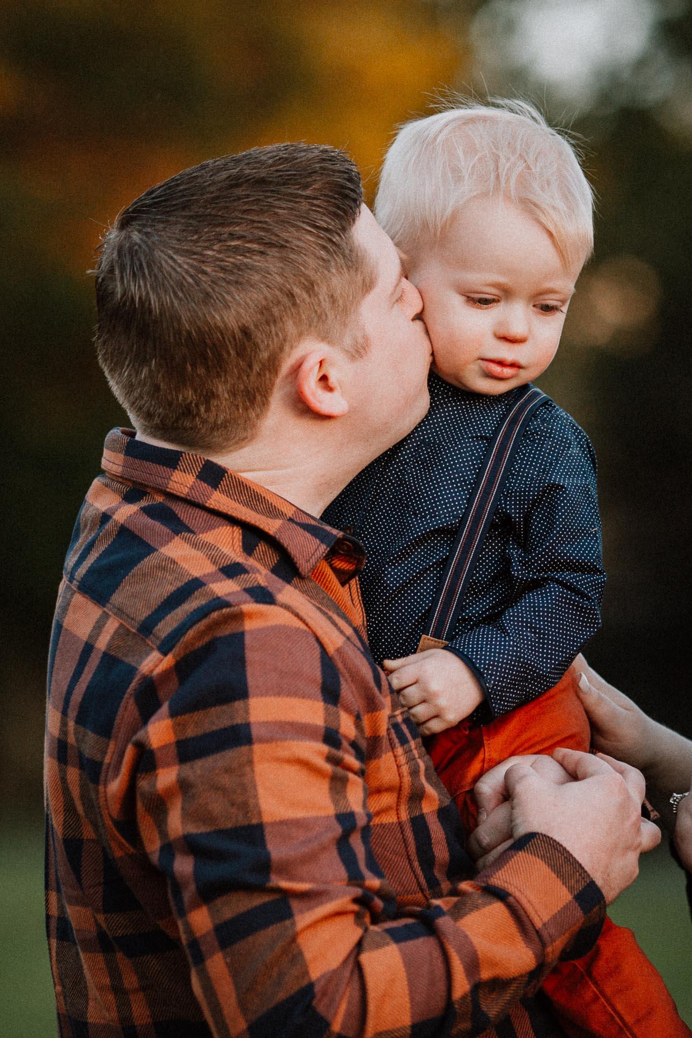 father son toddler fall autumn lifestyle documentary Heritage Farm Museum Sterling Loudoun Virginia Family Marti Austin Photography