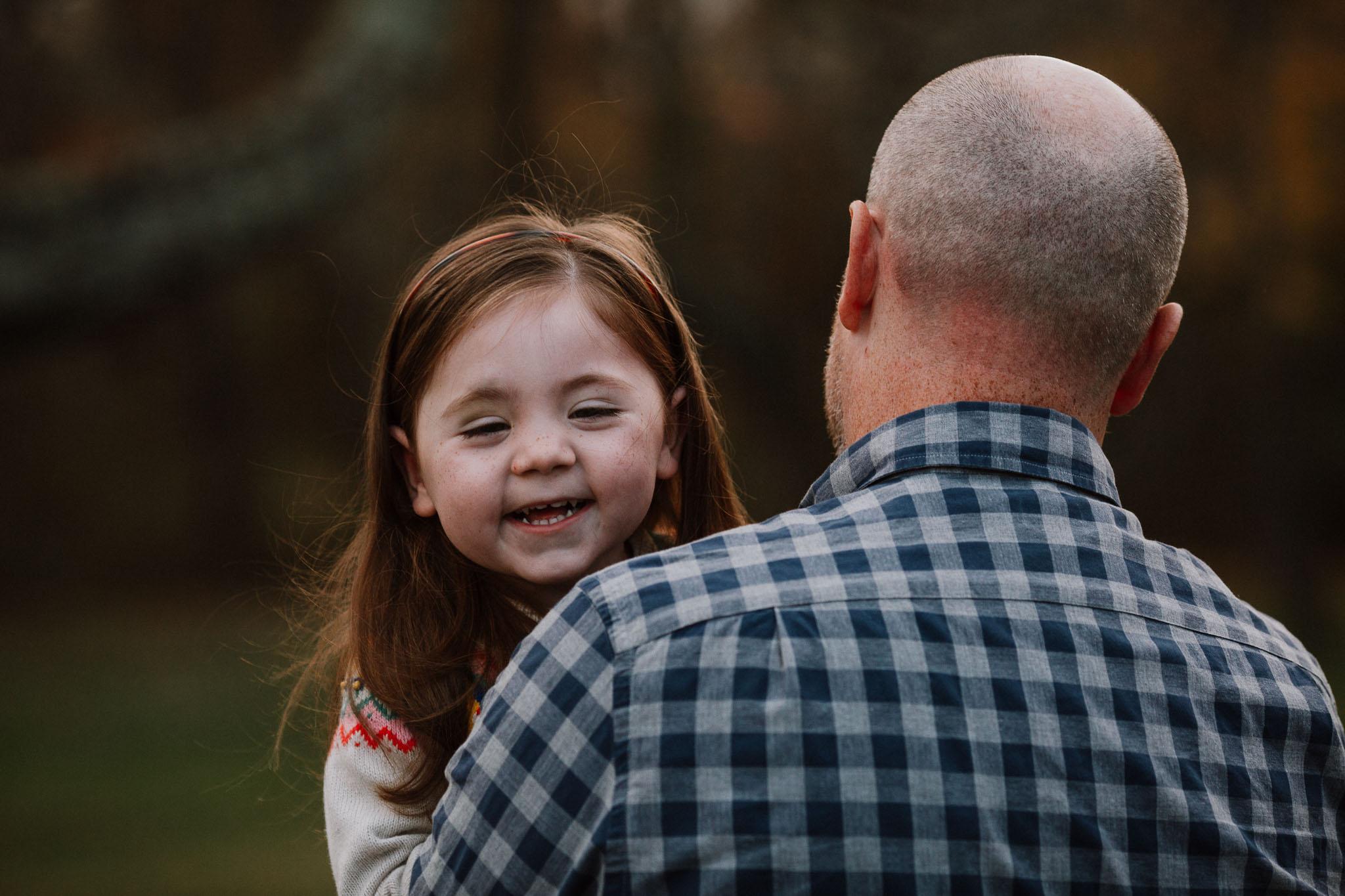 Father daughter family fall autumn lifestyle documentary Morven Park Leesburg Loudoun Virginia Marti Austin Photography