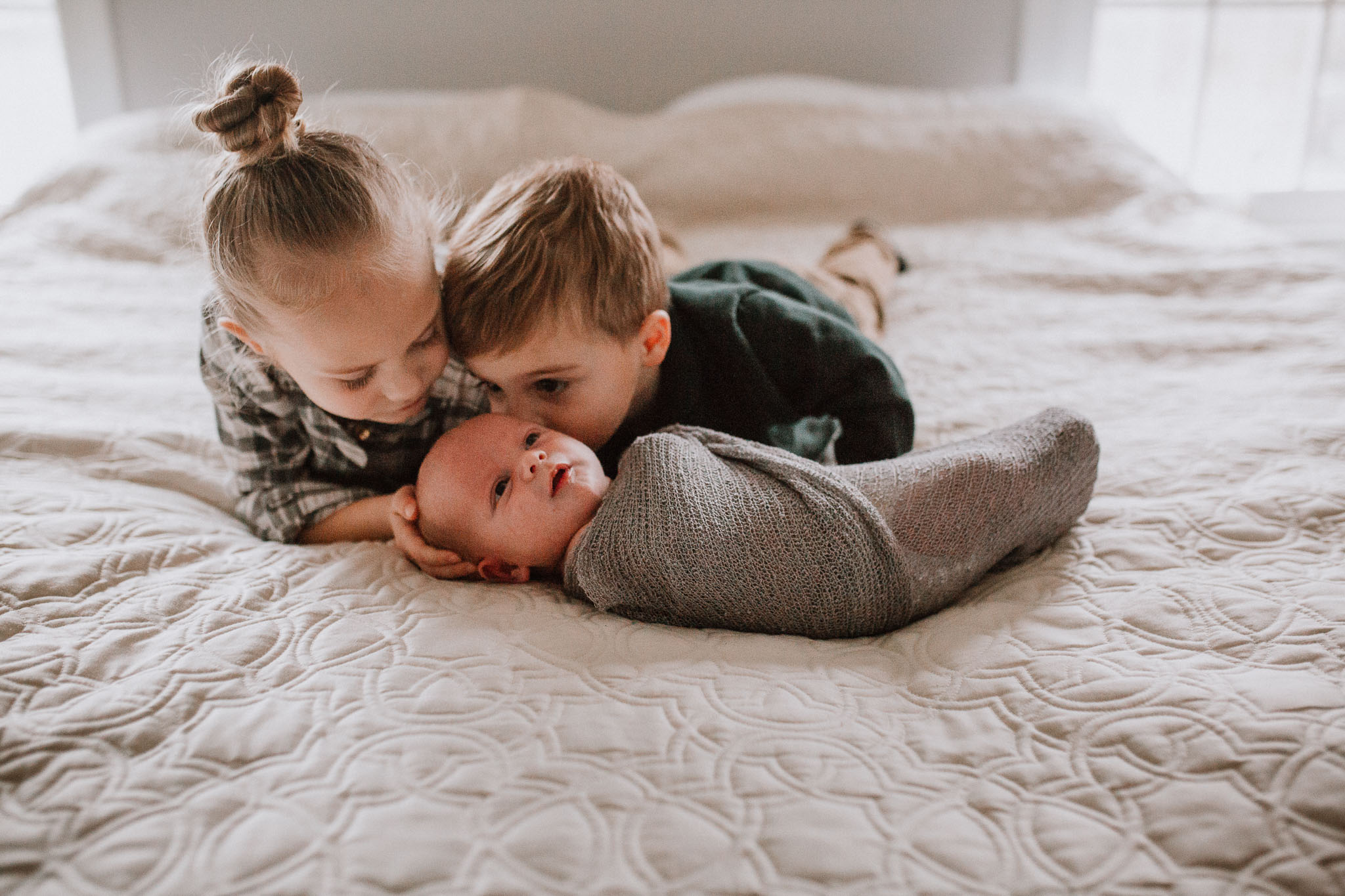 siblings baby boy brother sister  lifestyle documentary in home family newborn ashburn loudoun virginia Marti Austin Photography