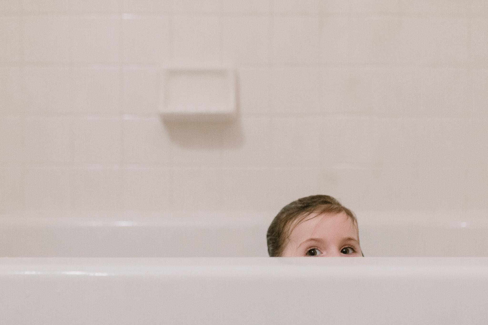 bath eyes childhood lifestyle documentary Ashburn Virginia Marti Austin Photography
