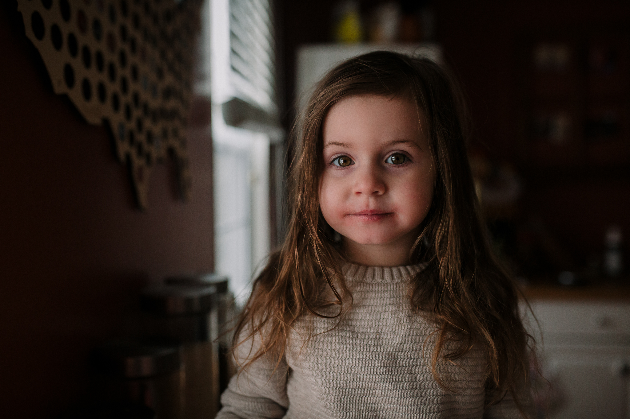 window light portrait girl childhood lifestyle documentary Ashburn Virginia Marti Austin Photography