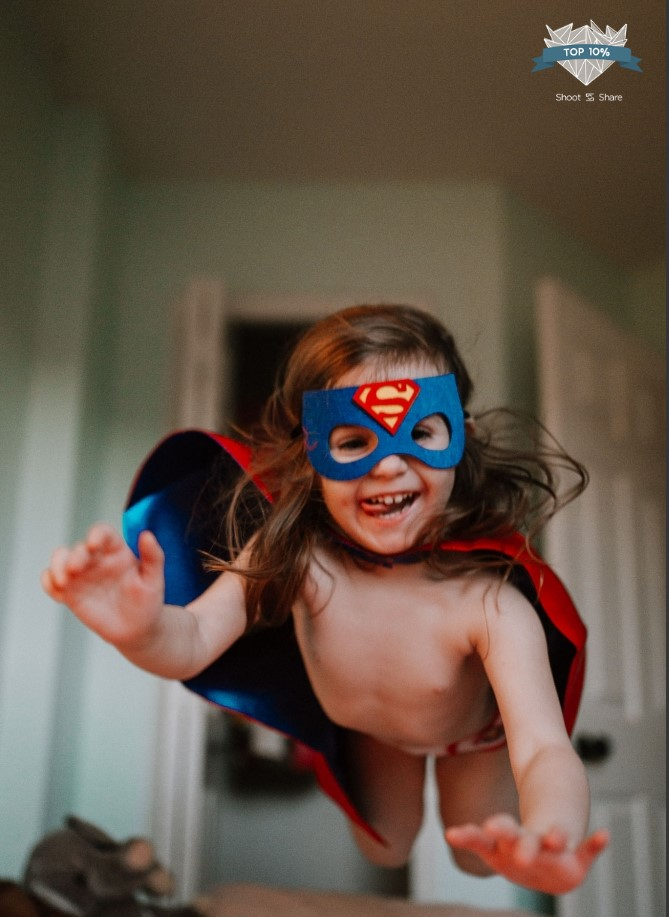 superhero jump mask cape lifestyle documentary ashburn loudoun virginia shoot and share contest Marti Austin Photography