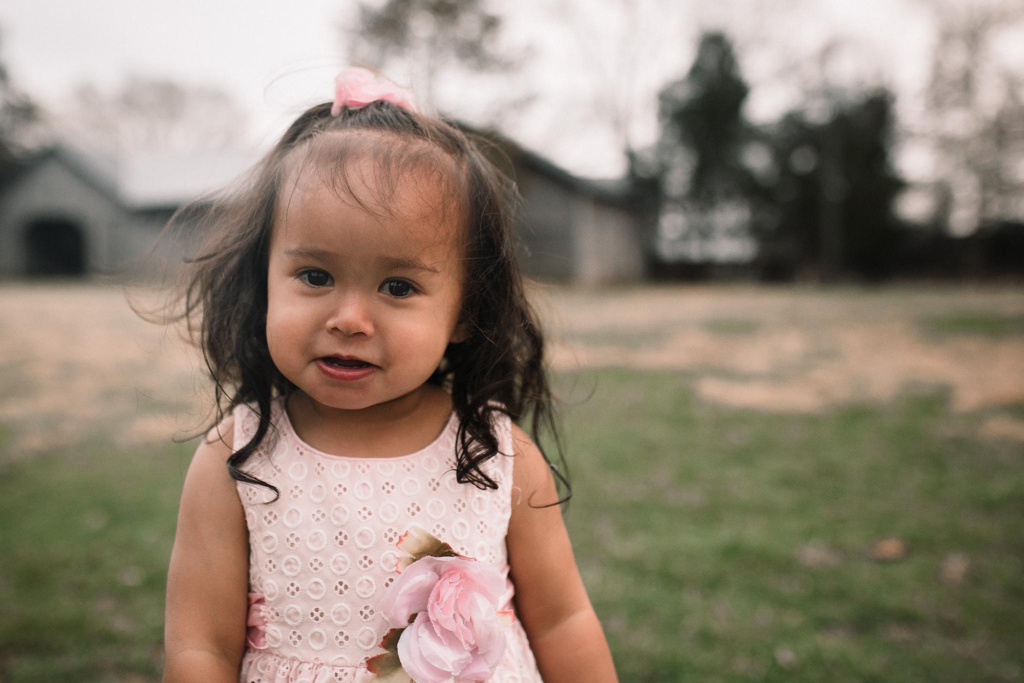 toddler girl pink dress lifestyle documentary Claude Moore Park Heritage Farm Museum Sterling Loudoun Virginia Marti Austin Photography